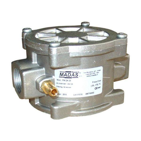 Filtros y Válvulas para GAS MADAS